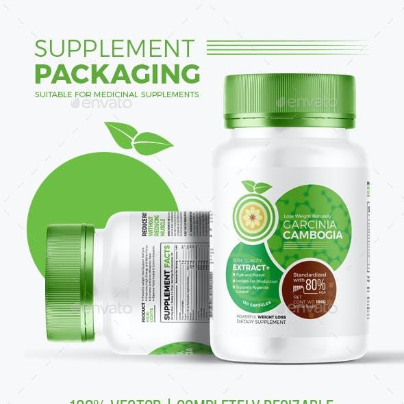 Supplement Packaging | Garcinia Cambogia #2
