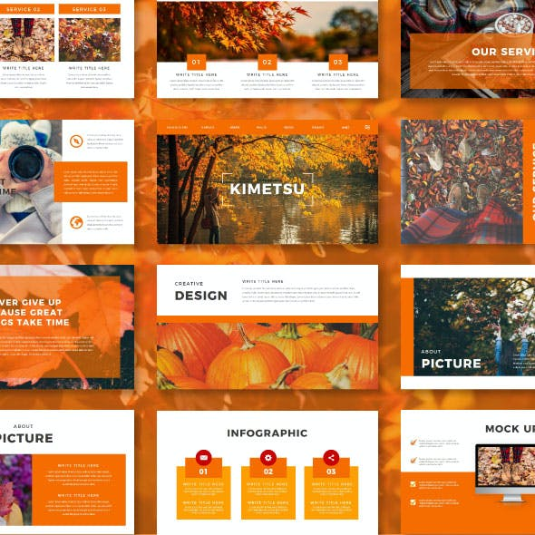 Autumn Multipurpose Keynote Template