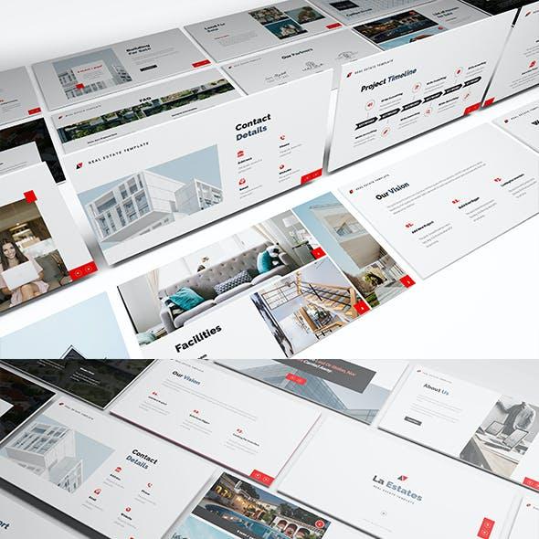 La Estate Real Estate Google Slides Template