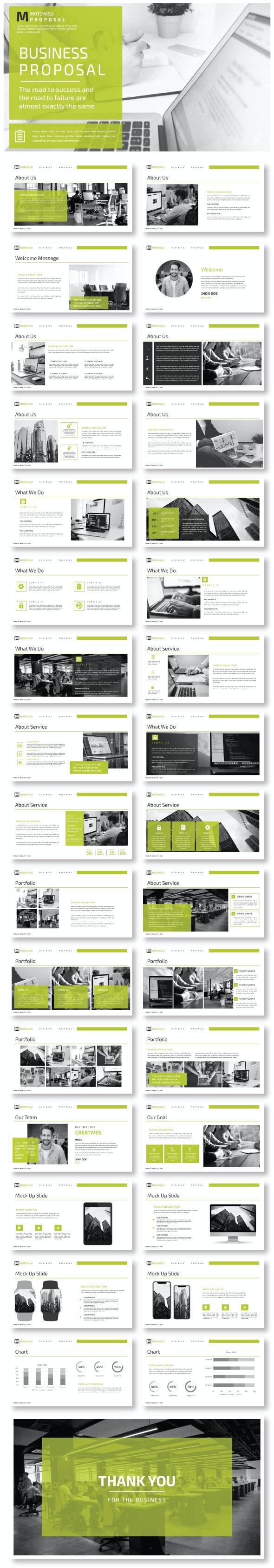 Proposal - Google Slide Templates - Google Slides Presentation Templates