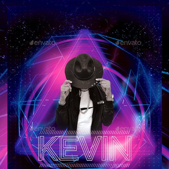 Neon DJ Flyer