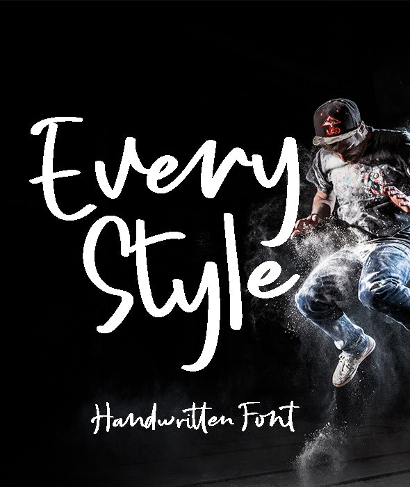 Every Style - Hand-writing Script