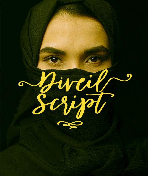 Diveil Script - Calligraphy Script