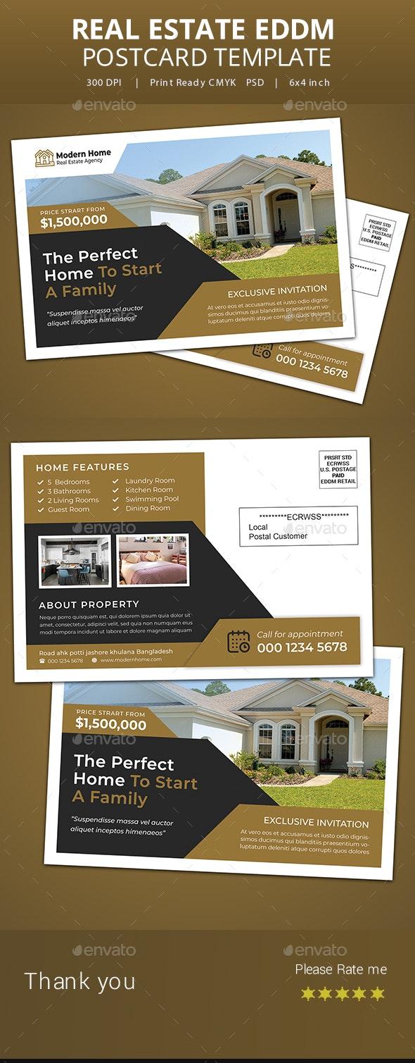 Real Estate EDDM Postcard Templates - Cards & Invites Print Templates