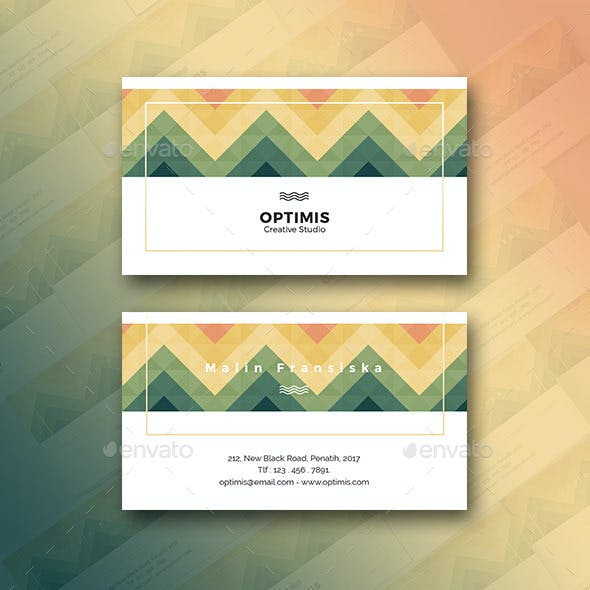 Horizontal WV Creative Business Card