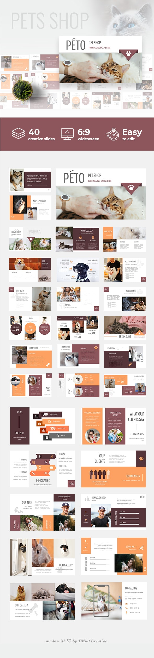 Peto - Powerpoint Presentation Template - Business PowerPoint Templates