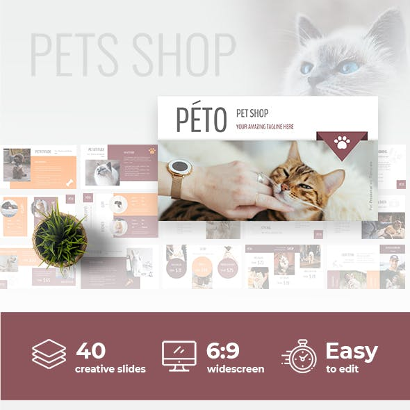 Peto - Powerpoint Presentation Template