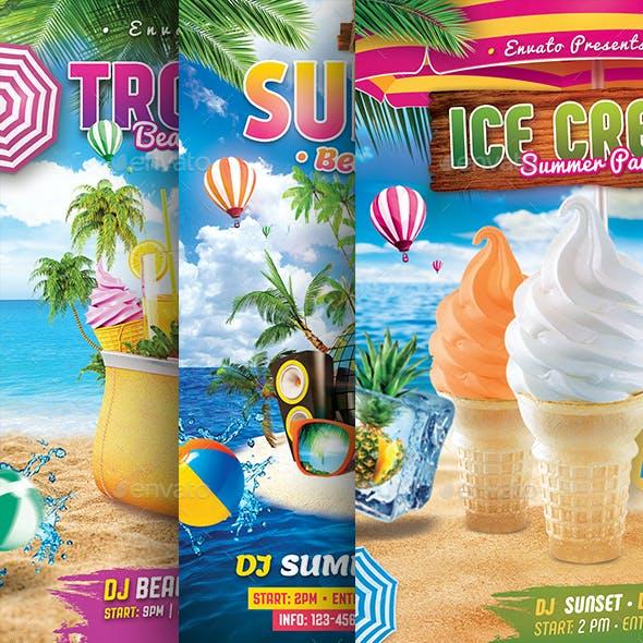 Summer Beach Bundle Flyer