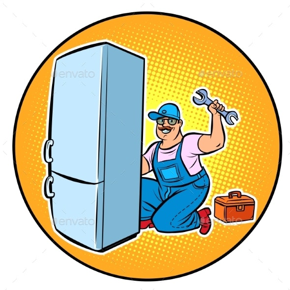 Master Refrigerator Repair - Business Conceptual