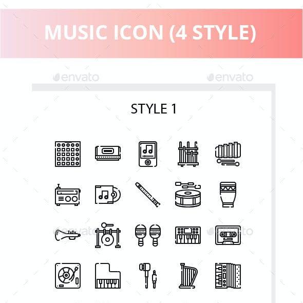 Music Iconset