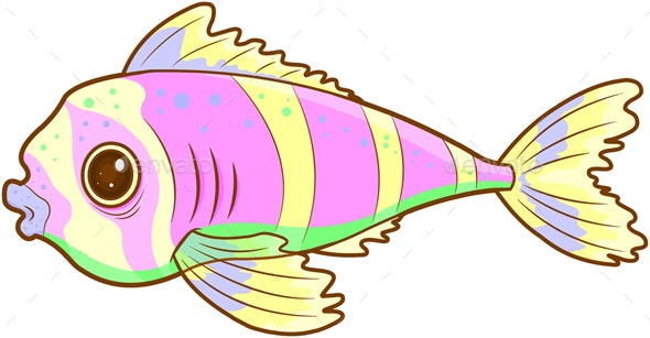 Exotic Fish - Animals Characters