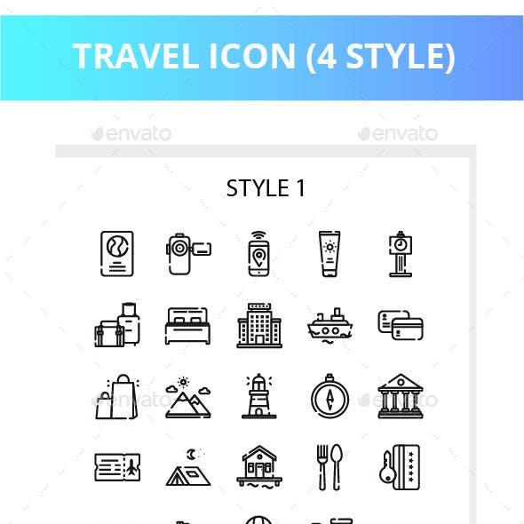 Travel Iconset