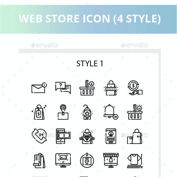Web Store Iconset