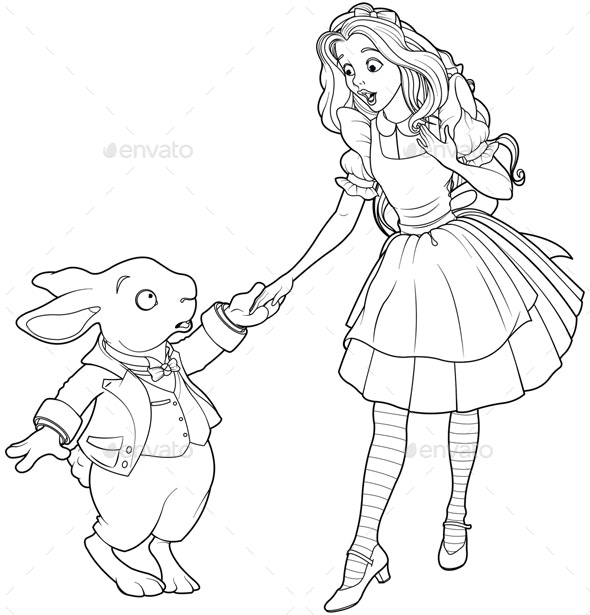 Alice and Rabbit - Miscellaneous Characters