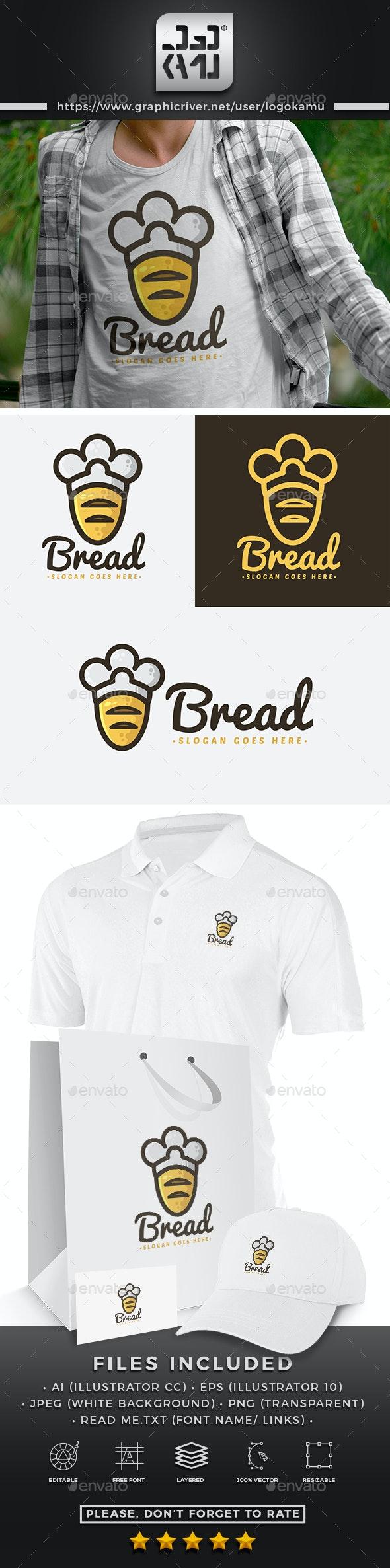 Bread Bakery Logo - Food Logo Templates