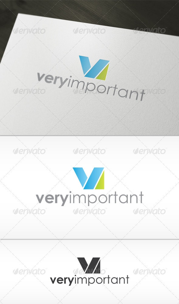 Very Important Logo - Letters Logo Templates