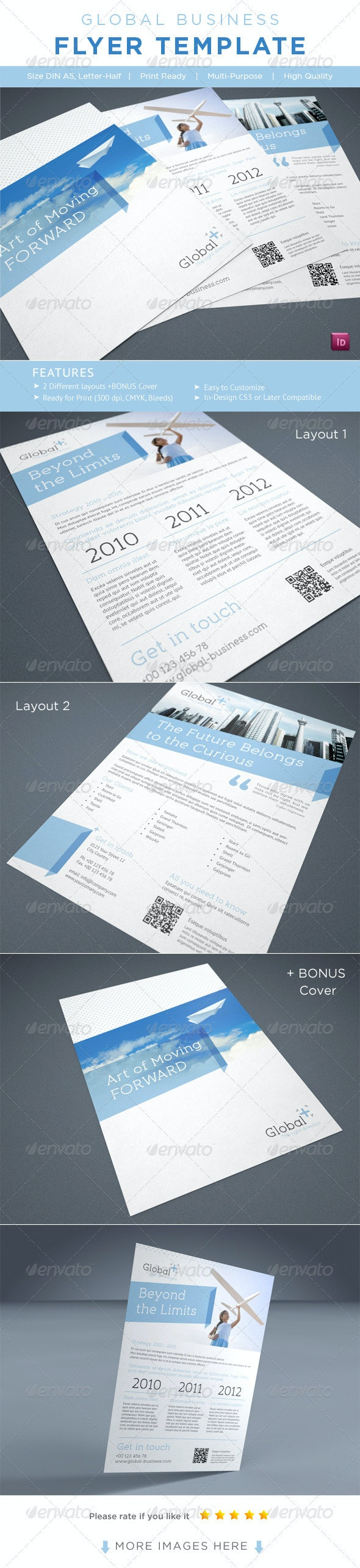 Business Flyer / AD Template - Corporate Flyers