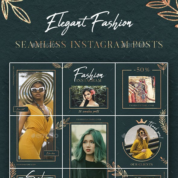 Elegant Fashion – Instagram Puzzle