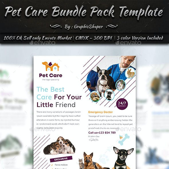 Pet Care Bundle Pack