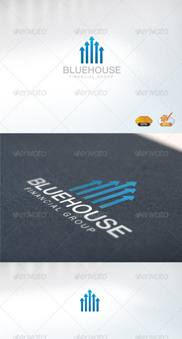BlueHouse - Abstract Logo Templates