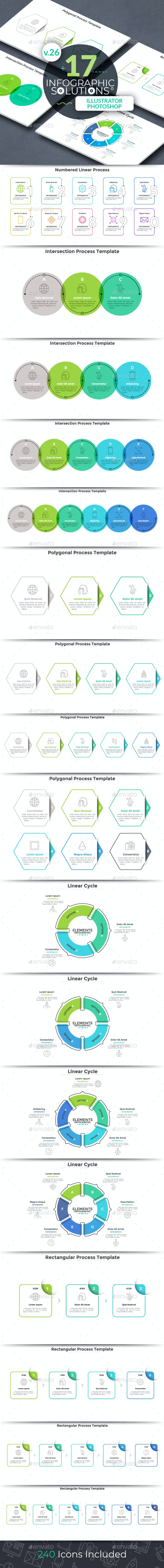 Infographic Solutions. Part 26 - Infographics