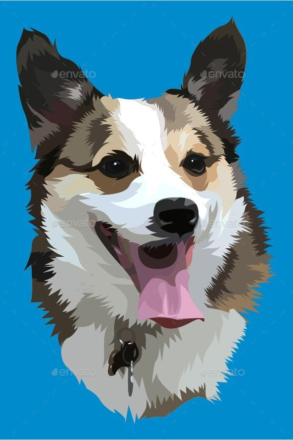Dog Vector - Animals Characters