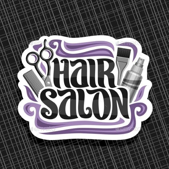 Vector Logo for Hair Salon