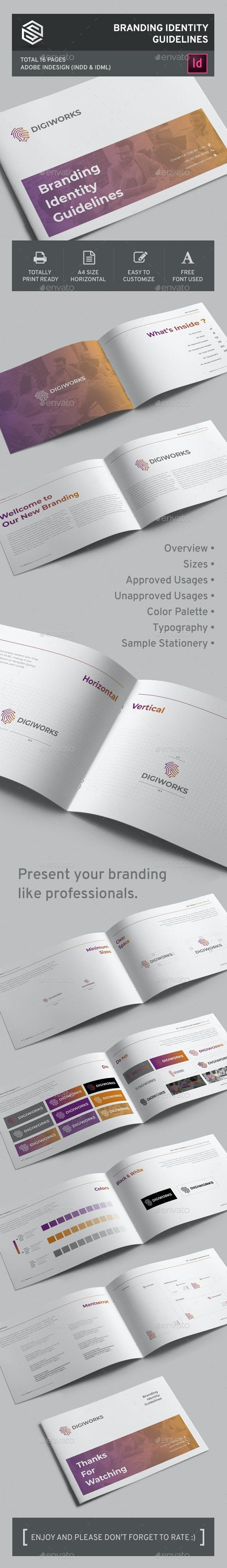 Branding Identity Guidelines - Corporate Brochures