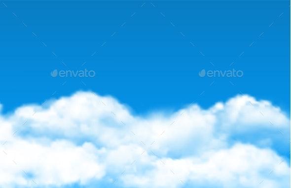 Cloud Sky Background - Miscellaneous Vectors