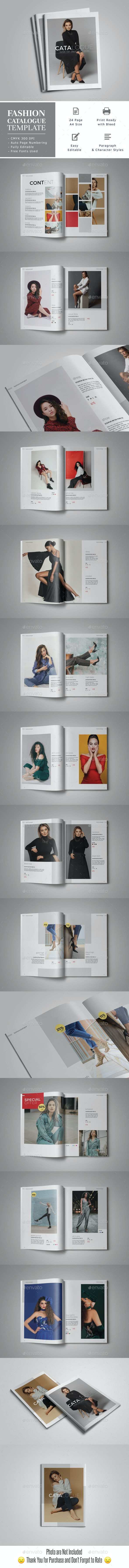 Fashion Catalogue Template - Catalogs Brochures