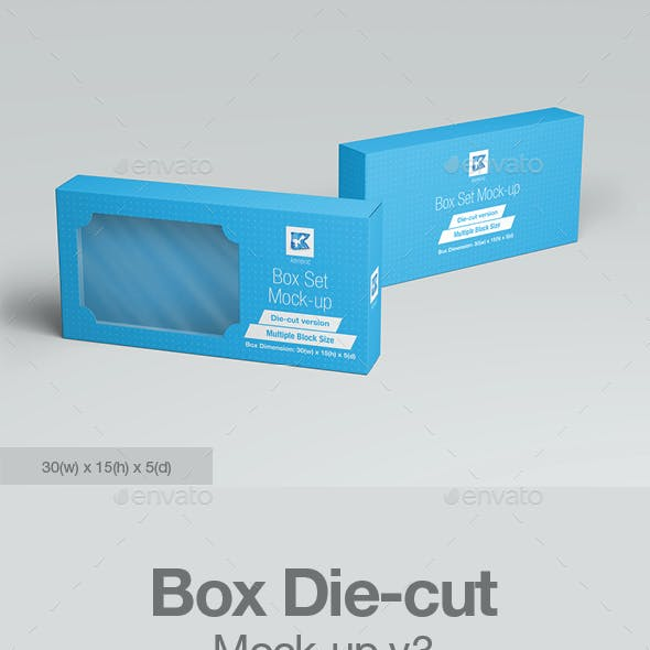 Box Die-cut Mock-up v3