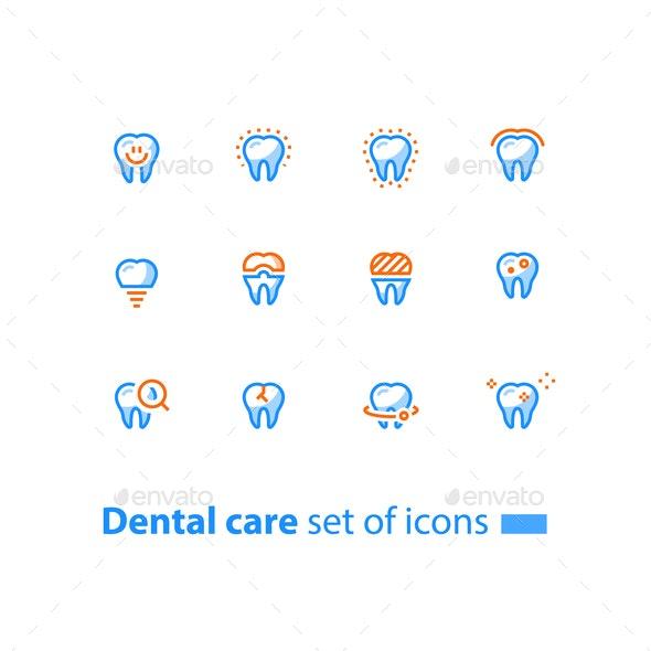 Stomatology Dental Care - Miscellaneous Vectors