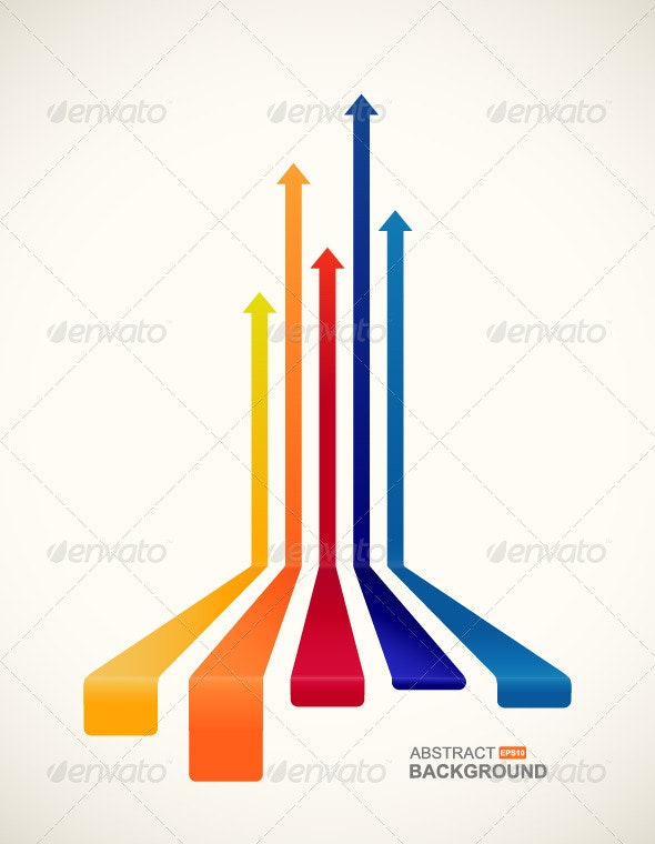 Colored Arrows - Decorative Symbols Decorative