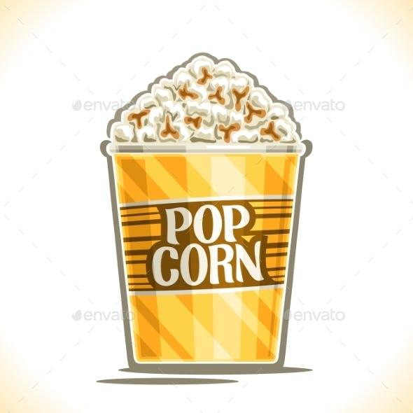 Vector Poster for Pop Corn