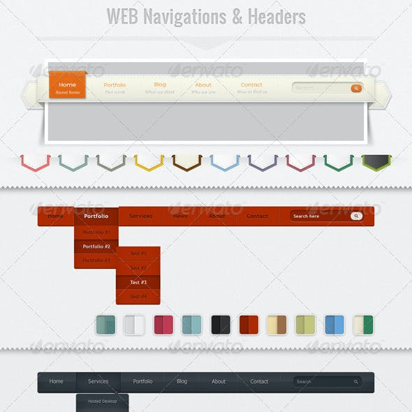 Web Navigation & Headers