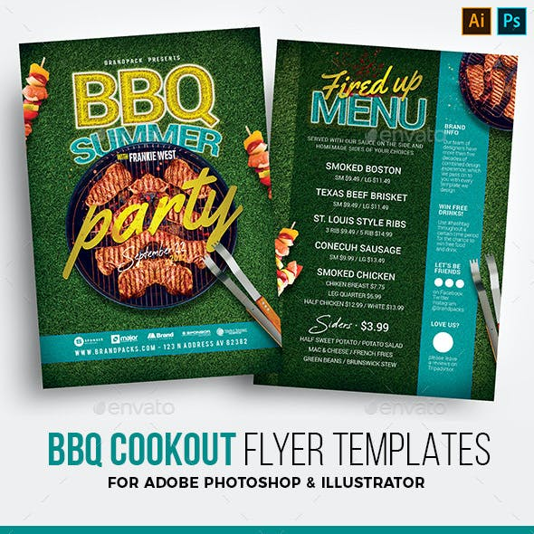 BBQ / Cookout Flyer