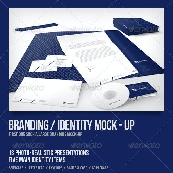 Branding/Identity Mock-up