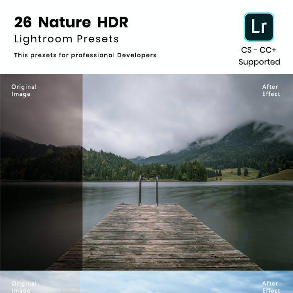 26 Nature HDR Lightroom Preset