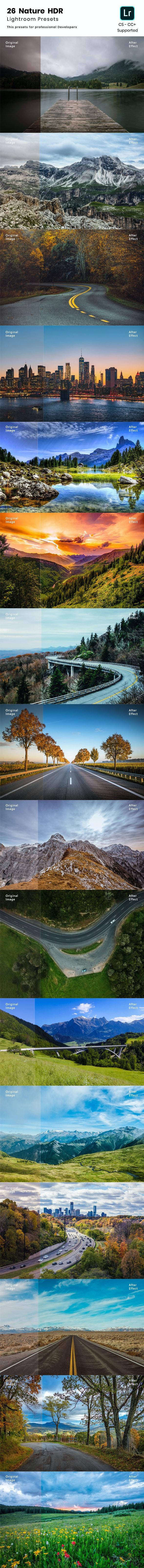 26 Nature HDR Lightroom Preset - HDR Lightroom Presets