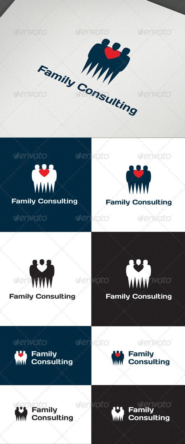 Family Consulting Logo - Humans Logo Templates
