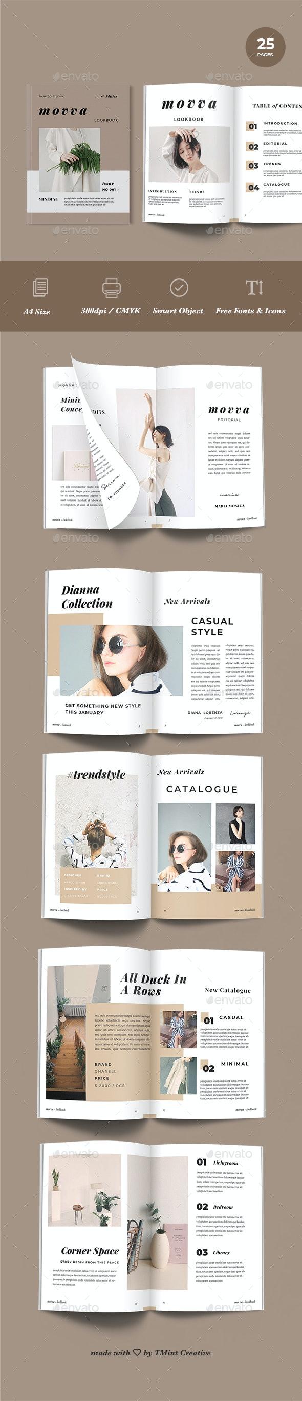 Movva - Lookbook Catalog Template - Catalogs Brochures