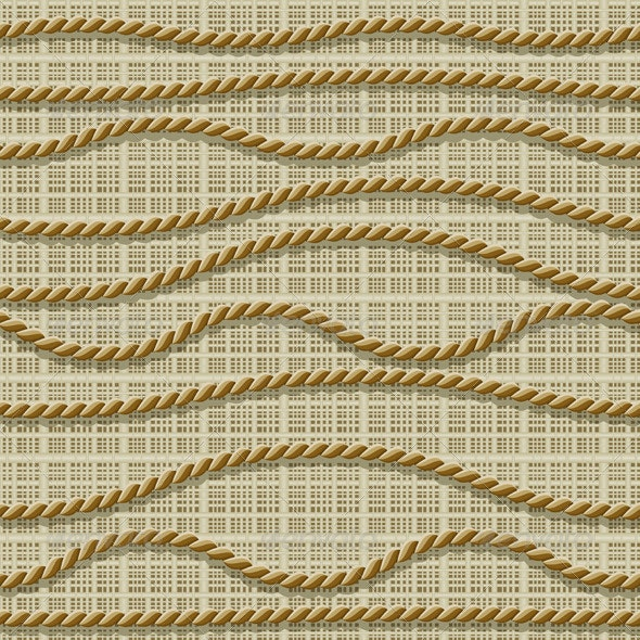 Seamless from ropes - Patterns Decorative