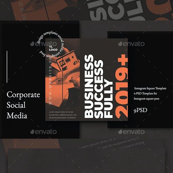 Business Corporate Instagram Template