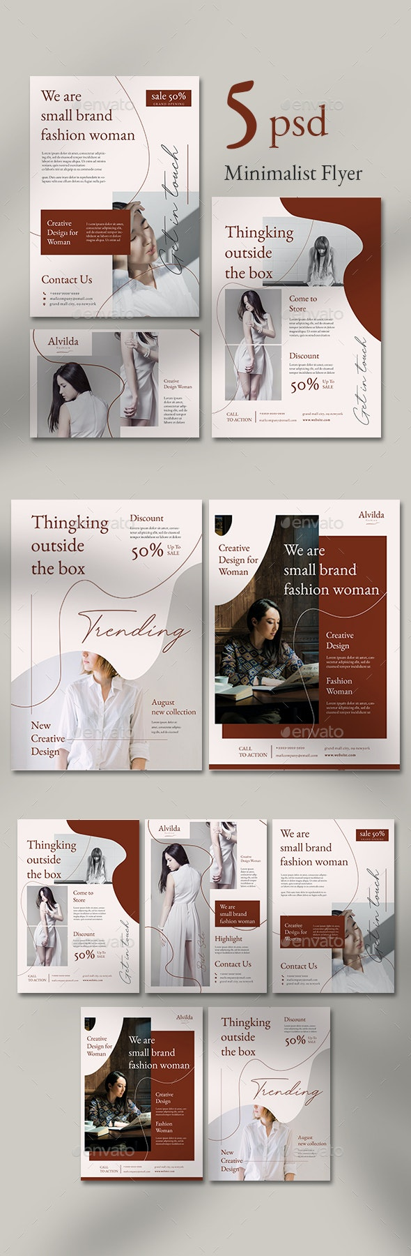 Fashion Flyer Templates - Flyers Print Templates