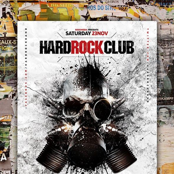 Hard Rock Flyer Poster