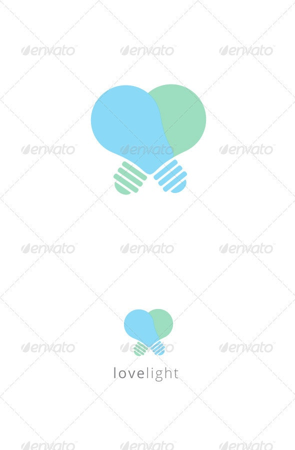 Love Light Logo Template - Logo Templates