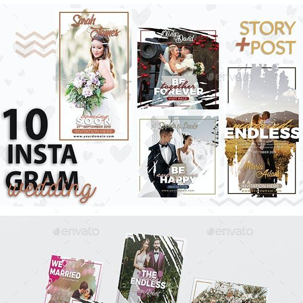 Instagram  Storie & Post Template