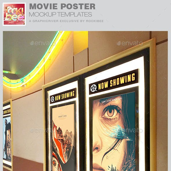 Movie Poster Mockup Templates