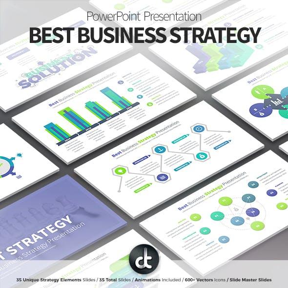 Best Business Strategy - PowerPoint Presentation