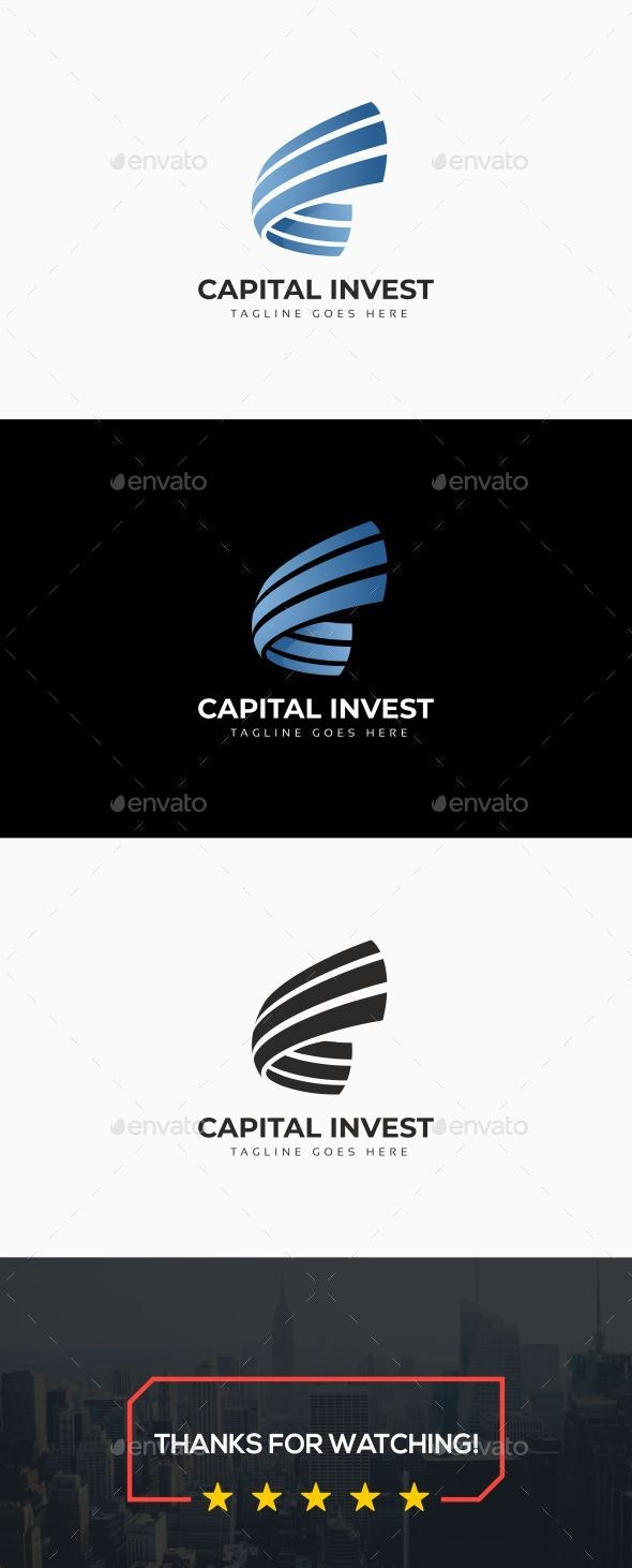 Capital Invest Logo - Abstract Logo Templates